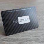 metal business card blanks